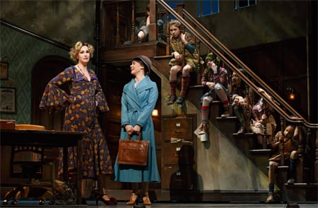 Jane Lynch in Annie on Broadway