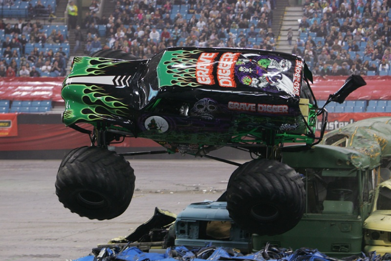 Grave Digger, Monster Jam