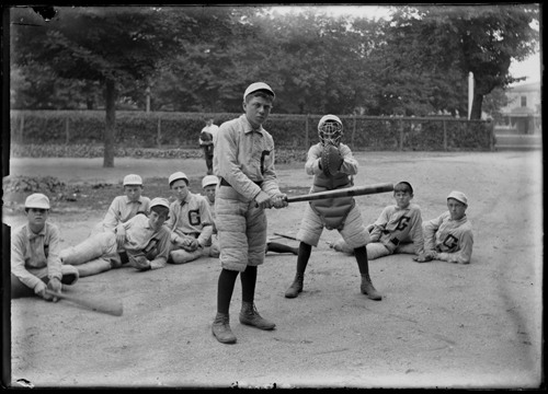 long island at work and at play, baseball photo