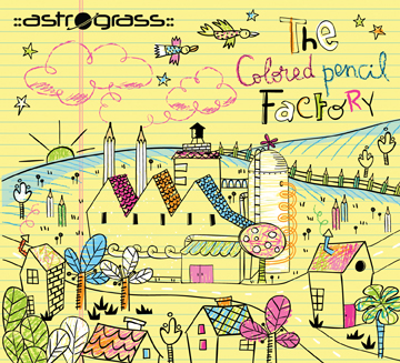 Asgtrograss The Colored Pencil Factory Album Artwork