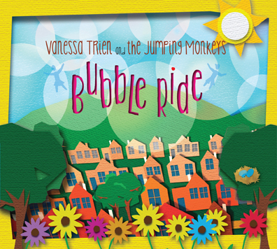Vanessa Trien and the Jumping Monkeys Bubble Ride Album Artwork
