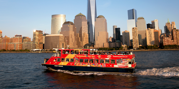 city sightseeing cruises skyline