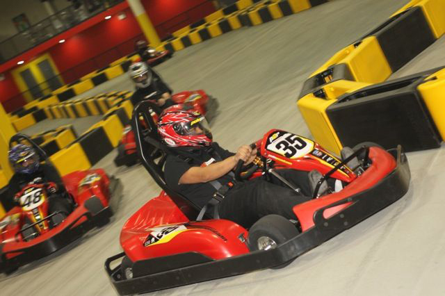 Go Kart at Pole Position Raceway