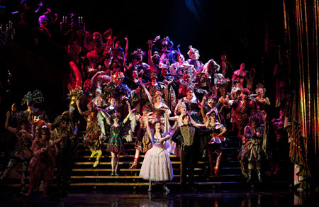 Cast of Phantom of the Opera on Broadway