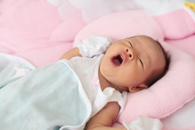 Yawning Infant