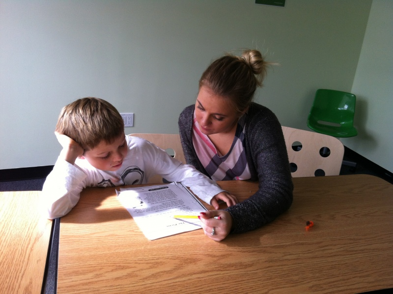child and tutor