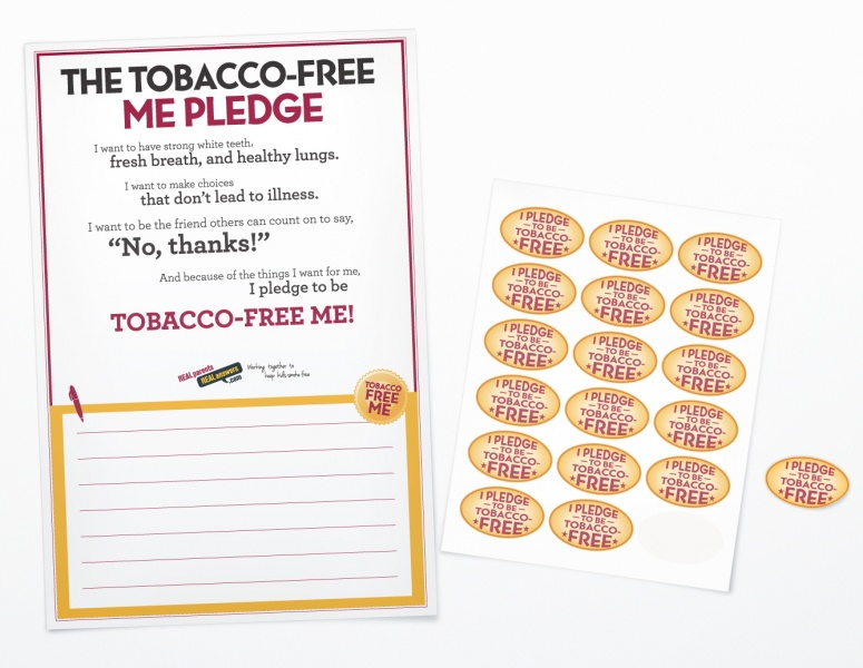 tobacco-free pledge kit