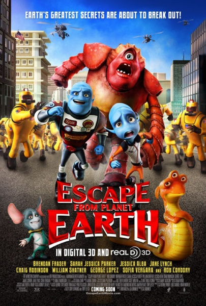 """Escape From Planet Earth"""