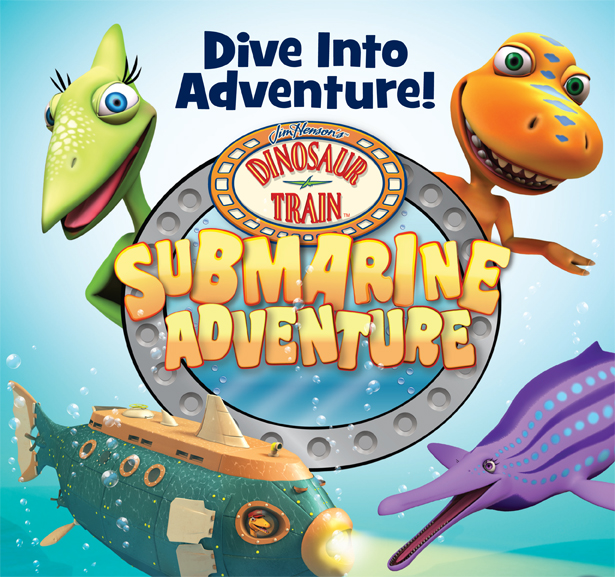 Dinosaur Train Submarine Adventure