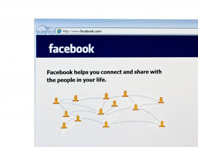 Facebook Homepage Screen