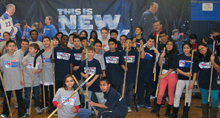 Boys and Girls Club of Northern Westcheter and the New York Rangers