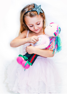 Girl with Time IN Doll