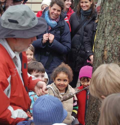 maple sugaring at nature place day camp chestnut ridge ny