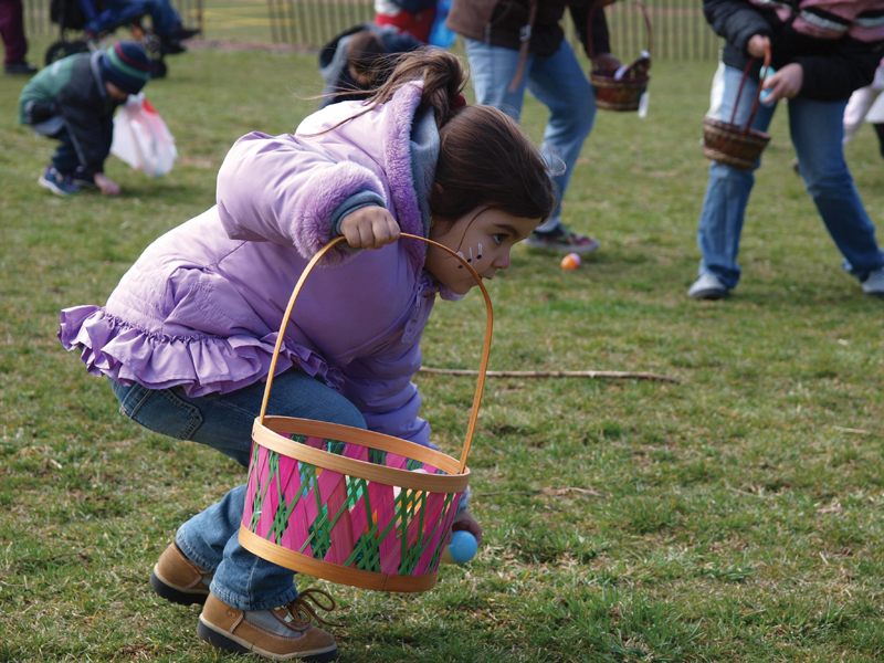 easter egg hunt in queens nyc