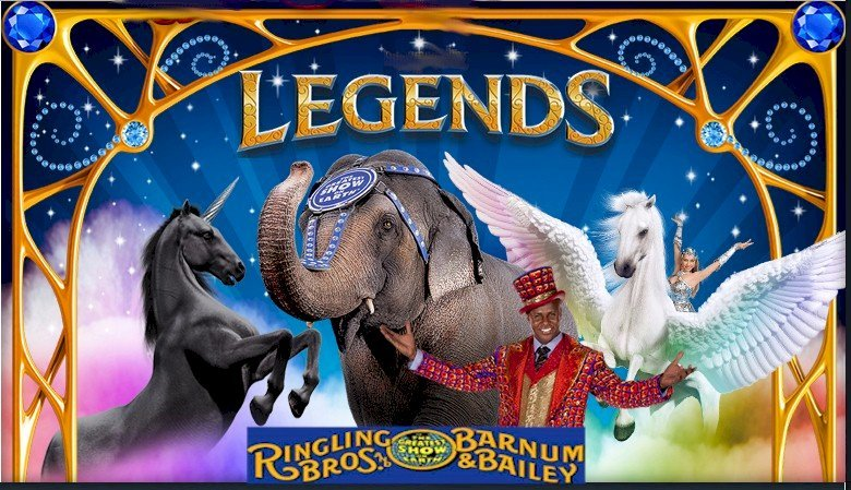 Ringling Bros. Legends logo
