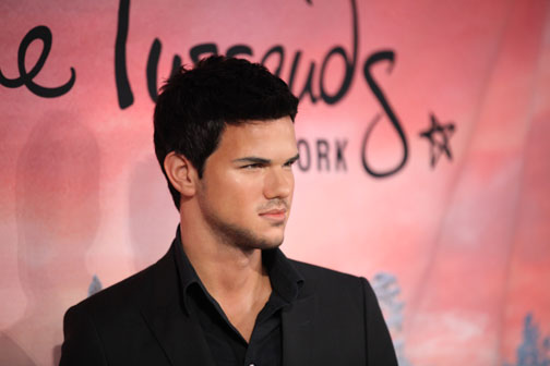 Taylor Lautner Madame Tussauds