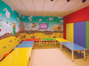 Legoland birthday party room