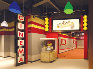 Legoland 4D Cinema