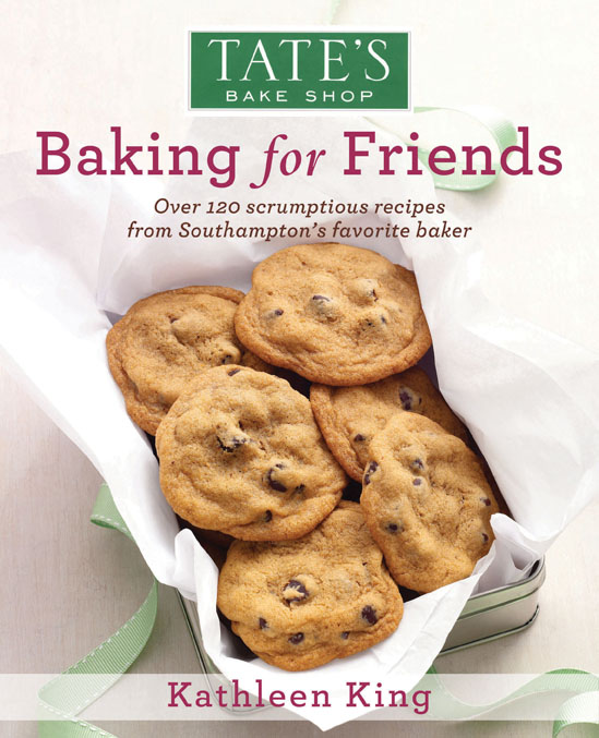 Tate's cookbook Baking for Friends