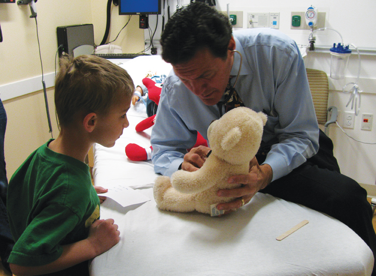 teddy bear clinic westchester hospital