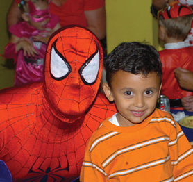 superhero pizza party at new jersey children's museum