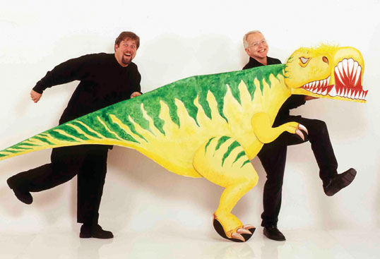 Jim West's Dinosaurs!