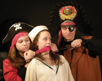 arena players present treasure island