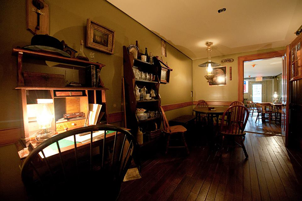 An interior view of the Lower East Side Tenement Museum.