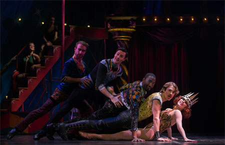Charlotte d'Amboise in Pippin on Broadway