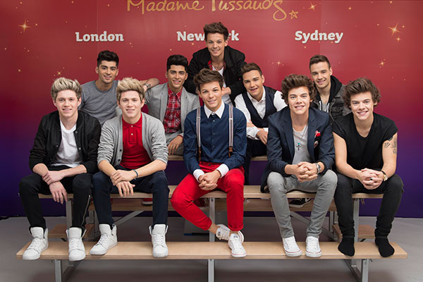 One Direction Return to Madame Tussauds NY for the Holidays on 11/24