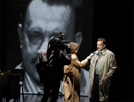 Tom Hanks in Lucky Guy on Broadway