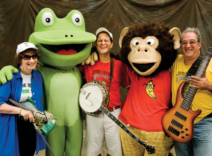 bossy frog band