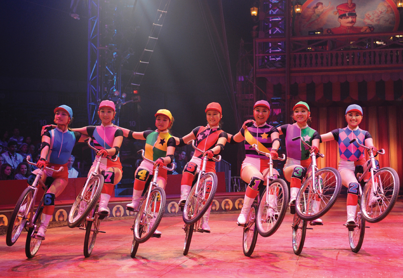 dalian troup in big apple circus