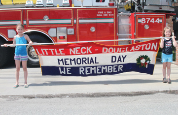 little neck-douglaston memorial day parade in queens