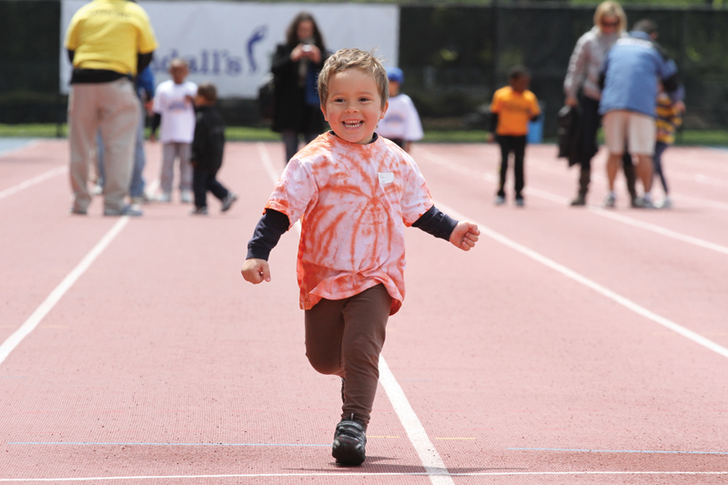 nyrr youth jamboree on randalls island nyc