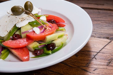 Cafe Bari Soho's Greek Salad