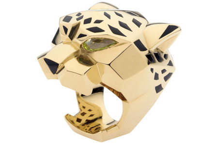 Cartier's Panthere Ring
