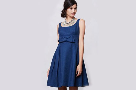 Anthropologie empire-waist dress