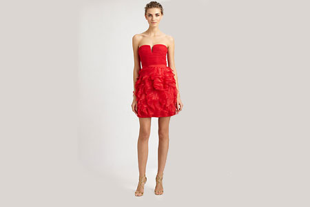 BCBG's LRD (little red dress)
