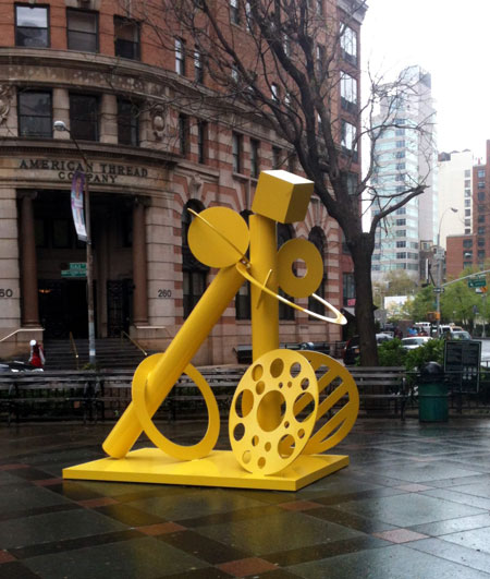 Cheryl Farber Smith, Mellow Yellow, Tribeca Park