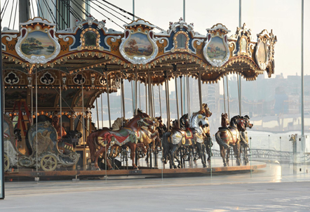 janes carousel in brooklyn