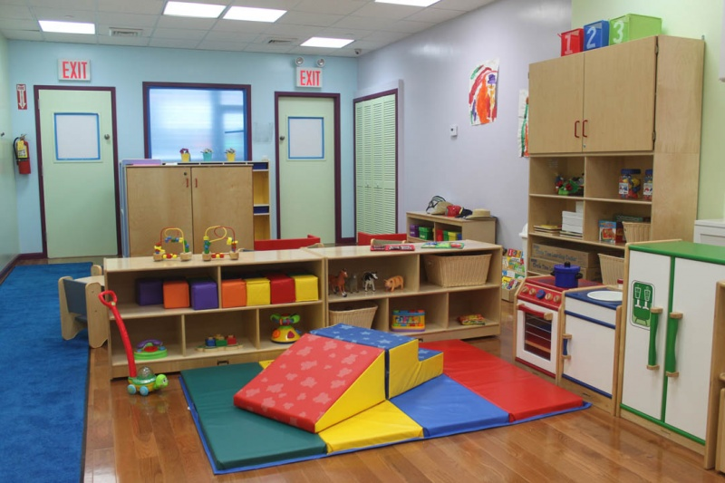 the playroom at ABC Child Center