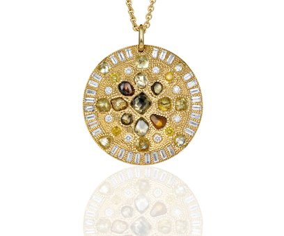 De Beers Talisman Loyalty Virtue Medallion