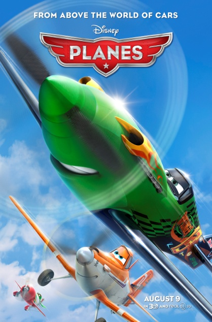 Disney's Planes in Theater Aug. 9