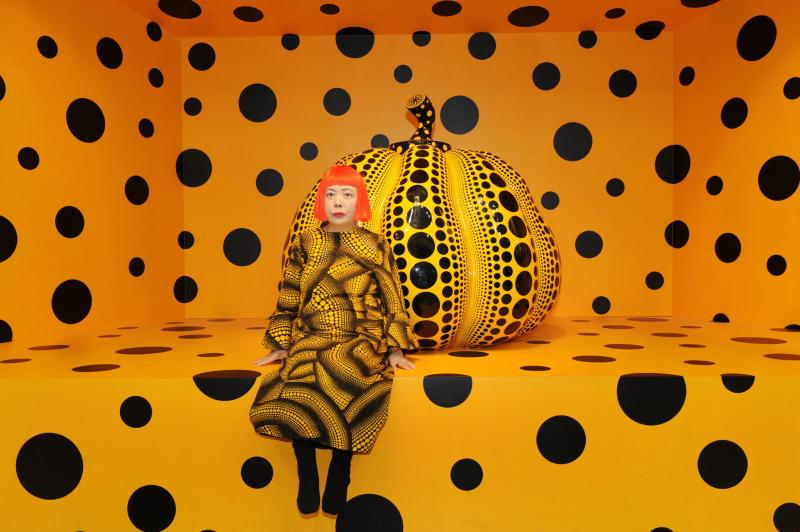 kusama cosmic nature bronx