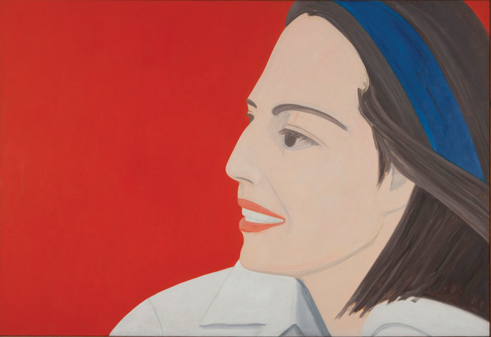 alex katz the red smile