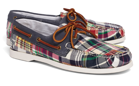 Brooks Brothers summer boat shoes