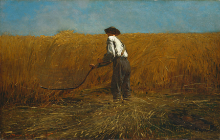 Winslow Homer - The Veteran in a New Field, 1865