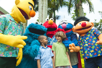 sesame street at beaches ocho rios