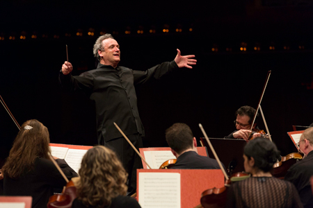 Music Director Louis Langrée and the Mostly Mozart Festival Orchestra